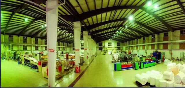 فروش کارخانه چاپ خانه و تولید پلی اتیلن در شهرک صنعتی پرند